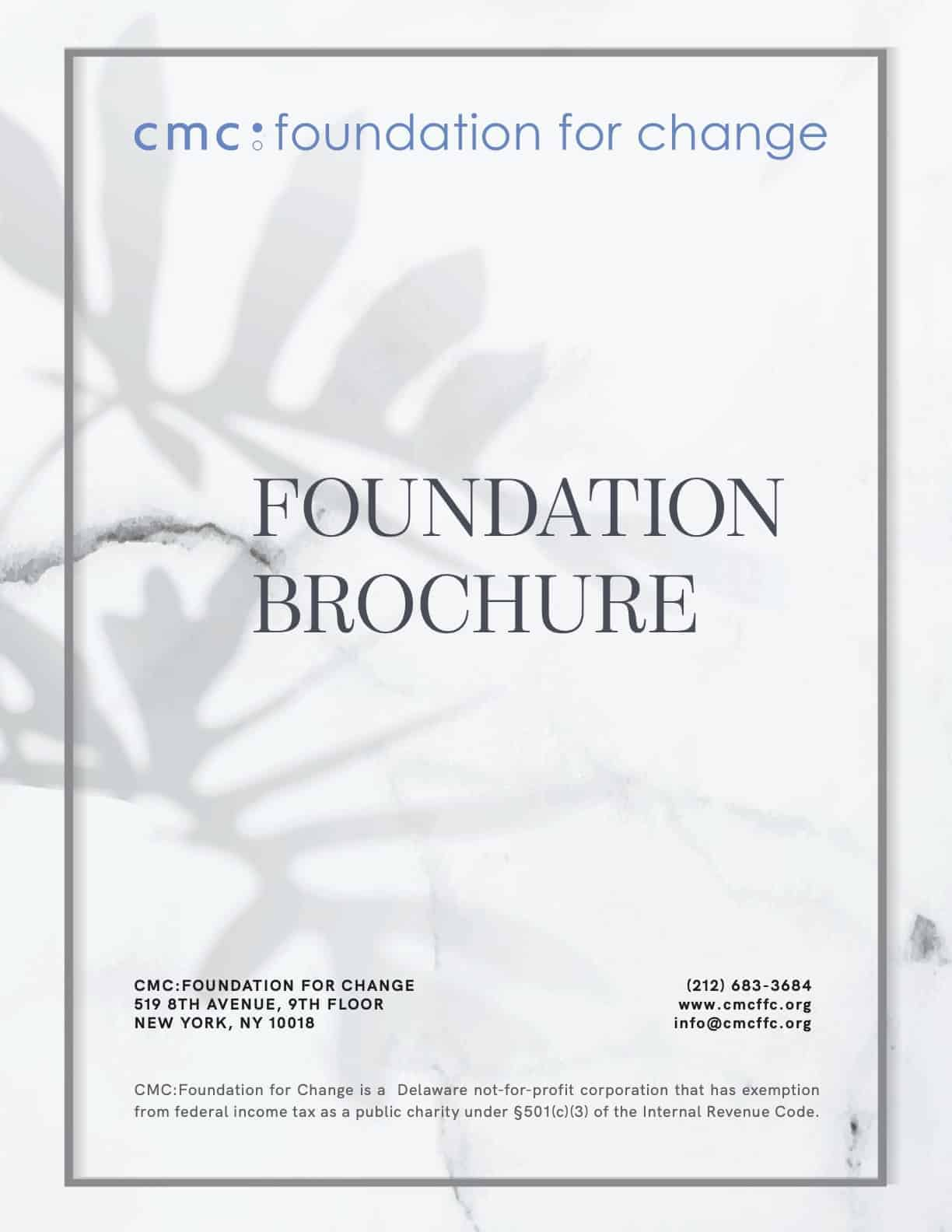 Foundation Profile Coverpage